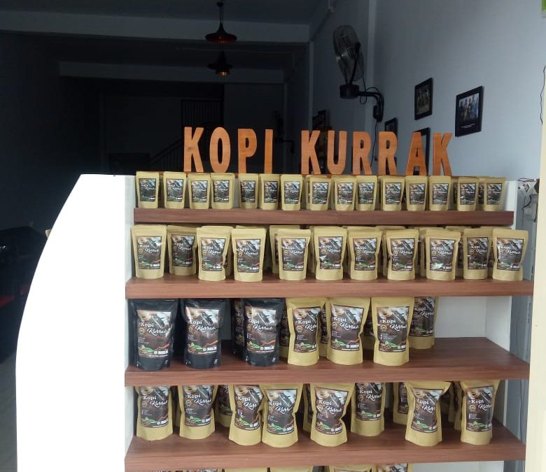 Green beans, roasted coffee, and ground coffee (Kurra' Coffee) produced by Kurra Bumdes